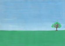 одиночный вал Стоковая Фотография RF