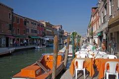 Один день в Murano - стеклянная половина вполне! 3 стоковые фото