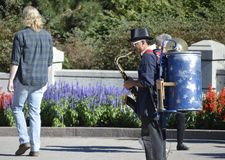 Один диапазон человека - Канада 150 торжеств Стоковое Фото