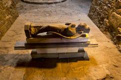 Один из музея замка Paphos экспонатов внутреннего в Кипре Стоковые Фотографии RF