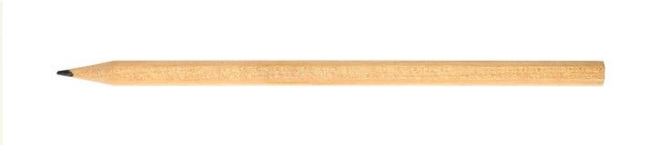 Один конец карандаша графита вверх изолированный на белизне Стоковое фото RF