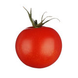 Один томат изолированный на белой предпосылке Стоковое Изображение