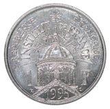 Один французский франк стоковое фото rf