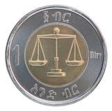 Один эфиопский birr Стоковые Фотографии RF