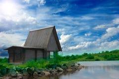 одичалое сказовой дома свободного полета старое Стоковое Фото