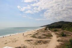 Одичалый пляж Стоковое Изображение