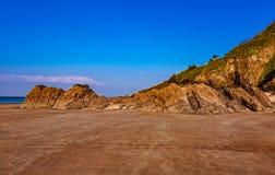 Одичалый пляж стоковое фото