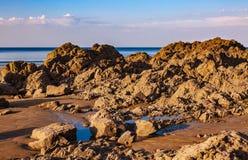 Одичалый пляж стоковое изображение rf