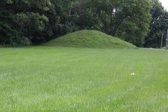 Одна из двойной насыпи на северном стробе форта старом Стоковые Изображения