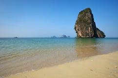 Одна из привлекательностей Railay, Krabi, Таиланд Стоковые Фото