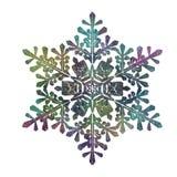 Одна снежинка, темнота, форма, диаграмма бесплатная иллюстрация