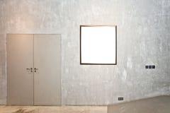 одна стена рамки цемента Стоковое фото RF