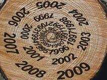 однолетние кольца Стоковая Фотография