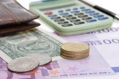 однолетний финансовый отчет Стоковая Фотография