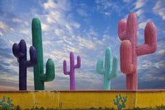 Одно много привлекательностей стороны дороги в Cancun Мексике Стоковые Изображения