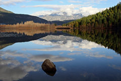 Одно отражение озера мили Стоковое Изображение