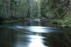 Одно река Стоковое Фото