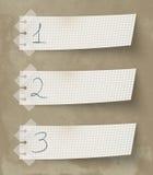 Одно 2 3 иллюстрация вектора