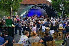 Одолженный фестиваль в Мариборе стоковое фото rf