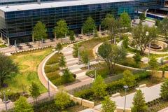 19-ое августа 2015 - Даллас, Техас, США Новое добавление к Parkl Стоковое Изображение RF