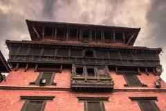 18-ое августа 2014 - индусский висок в Patan, Непале Стоковое Фото