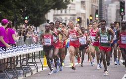 ` 17 6-ое августа - марафон чемпионатов атлетики мира Лондона: Geoffrey KIRUI стоковые фотографии rf