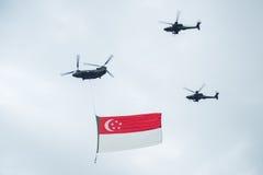 9-ое августа 2014: Национальный праздник Сингапура Стоковые Изображения RF