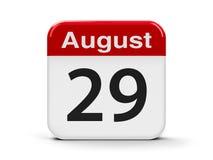 29-ое августа Стоковые Фотографии RF