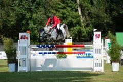 *** 10-ое августа 2014 Grand Prix CSIO-W в Братиславе, Словакии Стоковые Изображения RF