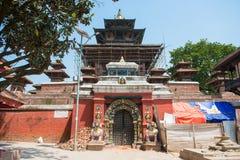 22-ое апреля 2018 - Непал:: Дворец Hanuman Dhoka - квадрат Kat Durbar стоковое фото rf
