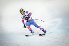 28-ое декабря 2017 - Bormio Италия - кубок мира лыжи Audi FIS Стоковые Фотографии RF