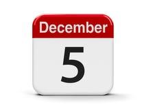 5-ое декабря бесплатная иллюстрация