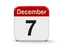 7-ое декабря бесплатная иллюстрация