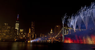 4-ое из торжества Нью-Йорка в июле (2014) Стоковые Изображения