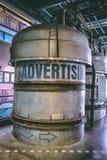 26-ое июля 2011, Дублин, Ирландия - знак рекламы внутри Storehouse Гиннесса Стоковая Фотография