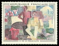 14-ое июля Роджером de Ла Fresnaye иллюстрация вектора