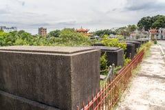 11-ое июня 2017 на улице китайского кладбища Манилы, Манилы, Phi Стоковые Изображения RF