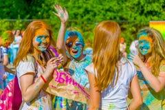 19-ое июня 2016, Orekhovo-Zuevo, область Москвы, Россия Festiv Стоковые Фото