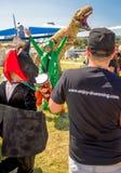 26-ое июля 2015 Красный Bull Flugtag Перед стартами конкуренции Стоковое Фото