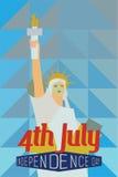 4-ое июля Стоковое Фото