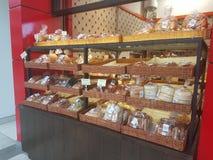 4-ое июля 2017, Selayang Selangor Дисплей хлеба на супермаркете бакалейщика Jaya Стоковое Изображение