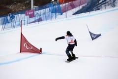 16-ое марта 2018 PyeongChang 2018 Сноуборд Para NPC - Россия стоковые фотографии rf