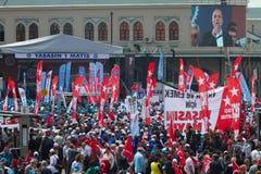 1-ое мая в Стамбуле Стоковые Изображения RF