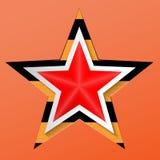 9-ое мая День победы в Великой Отечественной войне шток померанца иллюстрации предпосылки яркий Стоковые Изображения