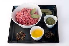Ое мясо с специей Стоковые Изображения RF