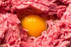 Ое мясо с яичком Стоковые Изображения