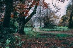 17-ое ноября 2017, лесть, Ирландия - дом лести стоковые фото