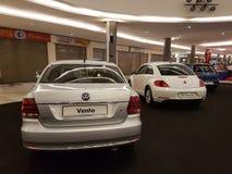 1-ое октября 2016, Куала-Лумпур Дисплей на торговом комплексе саммита USJ, Малайзия автомобиля Фольксвагена Стоковая Фотография