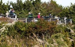 10-ое октября 2015: Платформа вахты хоука Cape May NJ Стоковое Изображение RF