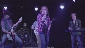 7-ое октября 2016, Россия, Москва, рокотание рок-группы музыки концерта злое акции видеоматериалы